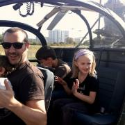 En famille, en Alouette II