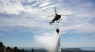 L'hélicoptère intervient en milieu sensible et dans les zones inaccessibles