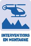 Interventions en montagne