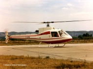 Le prototype de l'AS 350 Ecureuil, en 1974