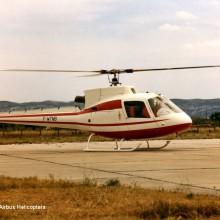 Le prototype de l'AS 350 Ecureuil, en 1974
