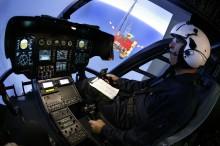 Simulateur EC135 © Eric RAZ - Airbus Helicopters