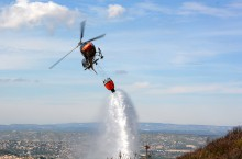 AS350 B3e demo bombardier d'eau