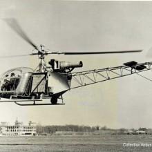 le prototype du SE 3130 Alouette II,  fin 1955