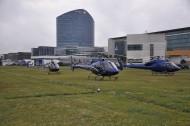 Opérateurs dur l'héliport de Paris