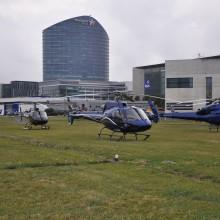Espoir pour l'avenir des opérations sur l'héliport
