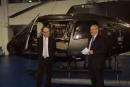 Régis Magnac et Dominique Orbec - Médaille de l'Aéronautique - UDF.dr