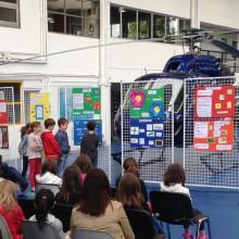 L'Héliport accueille trois classes pour parler environnement, mobilité et industrie