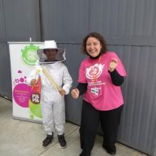 Le jeudi 1er octobre, le Club des Partenaires de l'Héliport organise sa deuxième récolte de miel avec PikPik Environnement et Couleur Pollen