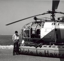 L'hélicoptère des pilotes du Havre fête ses quarante ans en 2016